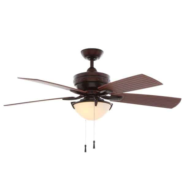 4-Winds 54 in. Indoor Outdoor Weathered Bronze Ceiling Fan