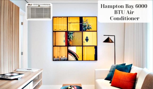 Hampton Bay Air Conditioner 6000 BTU in Room