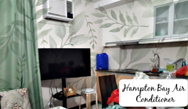 Hampton Bay Air Conditioner 6000 BTU in Kitchen
