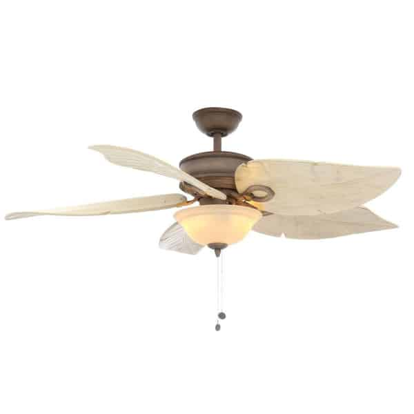 Hampton Bay Costa Mesa 56 in. Indoor Outdoor Weathered Zinc Ceiling Fan