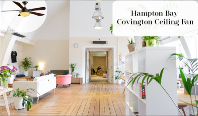 Hampton Bay Covington Ceiling CVT Ceiling Fan