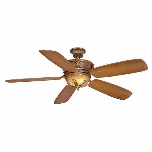 Hampton Bay Eden Lake 54 in. Distressed Walnut Ceiling Fan