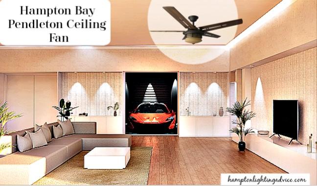 Hampton Bay Pendleton Ceiling Fan
