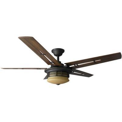 Pendleton 52 in. Walnut Indoor Ceiling Fan