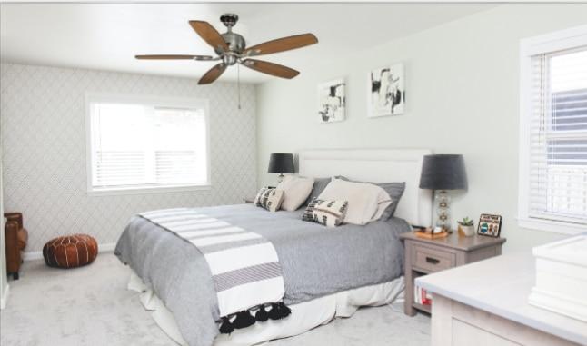 Trenton Ceiling Fan Bedroom