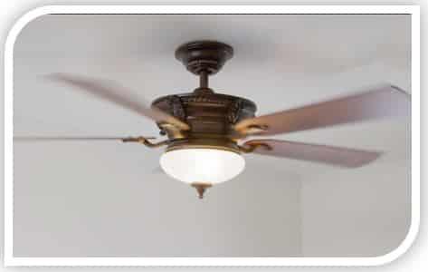 Hampton Bay AC552 ceiling fan wobble
