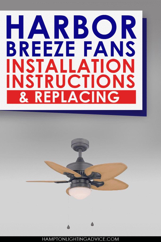 harbor breeze fans