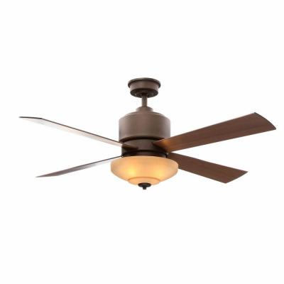 Alida 52 in. Oil Rubbed Bronze Ceiling Fan