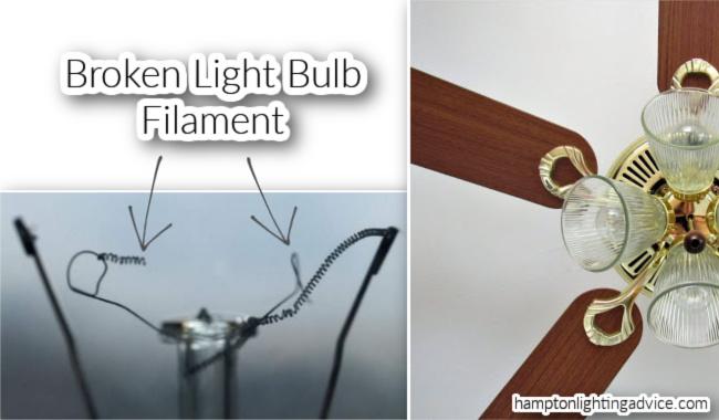 Harbor Breeze Broken Light Bulb Filament