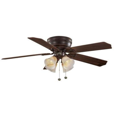 Carriage House 52 in. Indoor Iron Ceiling Fan