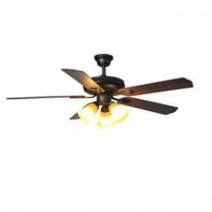 """Hampton Bay AG524-ORB Glendale 52"""" Oil-Rubbed Bronze Ceiling Fan"""