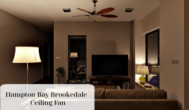 Hampton Bay Brookedale Ceiling Fan