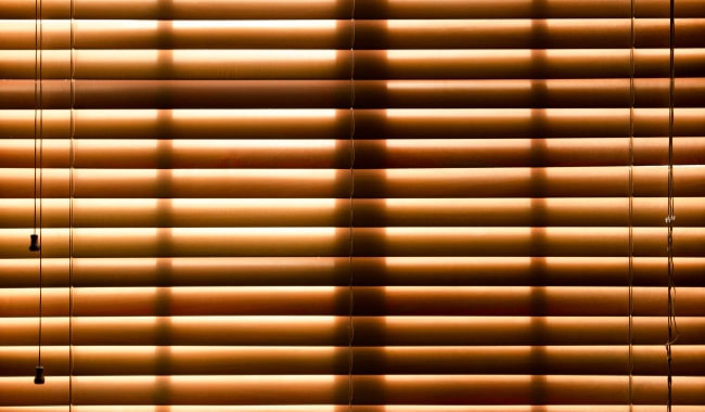 Hampton Bay Faux Wood Blinds