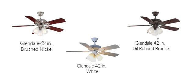 Hampton Bay Glendale 42 in. Ceiling Fan