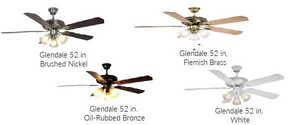 Hampton Bay Glendale 52 in. Ceiling Fan