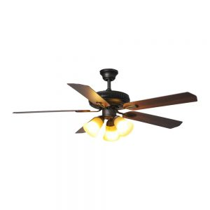 Hampton Bay Glendale 52 in. LED Indoor Oil-Rubbed Bronze Ceiling Fan with Light Kit