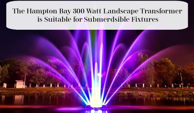 Hampton Bay Low Voltage 300 Watt Transformer for Submersible Fixtures