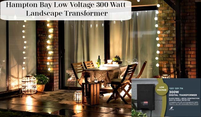 Hampton Bay Low Voltage 300 Watt Landscape Transformer