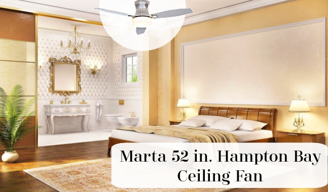 Hampton Bay Marta Ceiling Fan