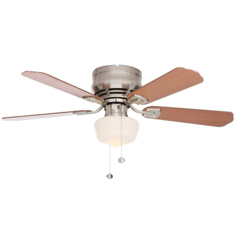 Hampton Bay Middleton 42 in. Brushed Nickel Ceiling Fan