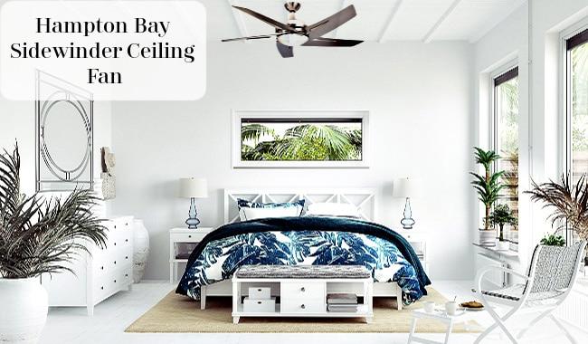 Hampton Bay Sidewinder 54 inch Ceiling Fan