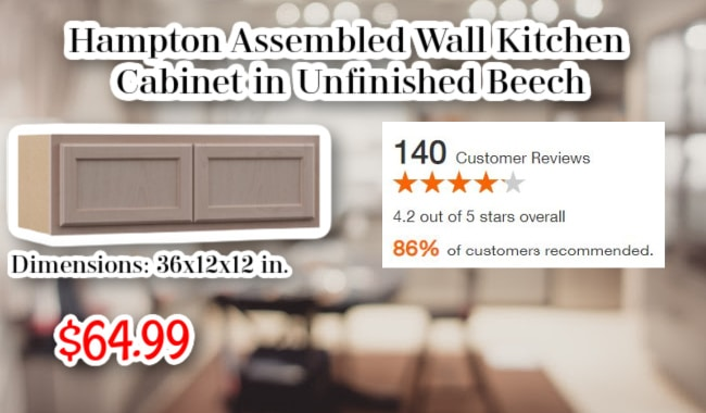 Hampton Wall Kitchen Cabinet