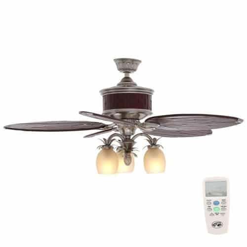 hampton bay colonial bamboo ceiling fan