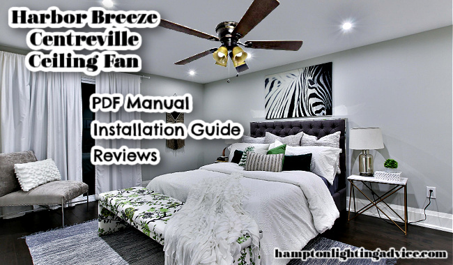 Harbor Breeze Centreville Indoor Ceiling Fan