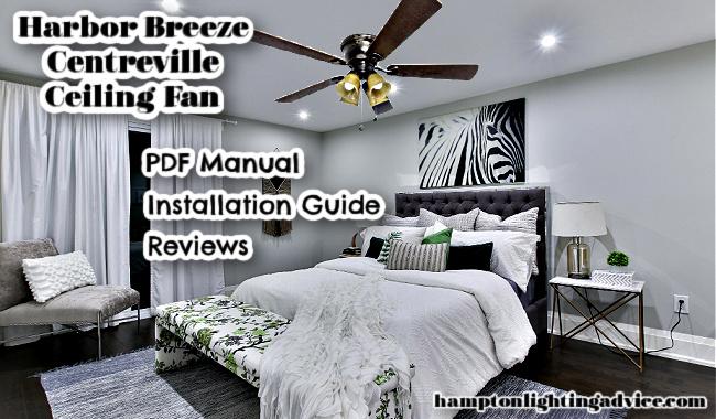 Harbor Breeze Centreville Indoor Ceiling Fan
