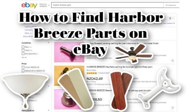 Harbor Breeze Parts on eBay