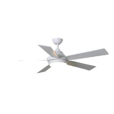 Harbor Breeze Platinum Portes Matte White Ceiling Fan