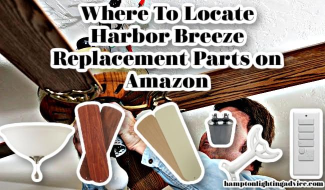 Harbor Breeze Replacement Parts on Amazon