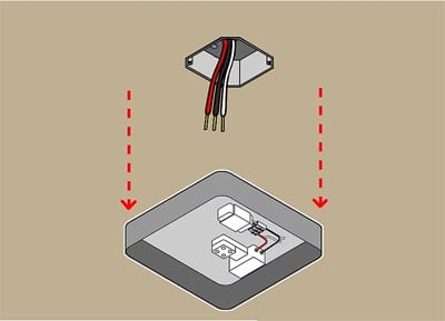 Install Industrial Ceiling Fan Step 1
