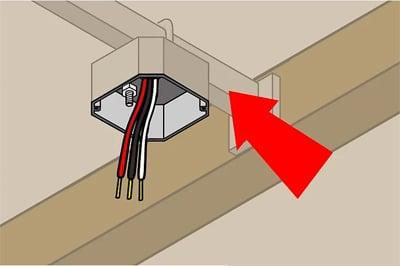 Install Industrial Fan Step 2
