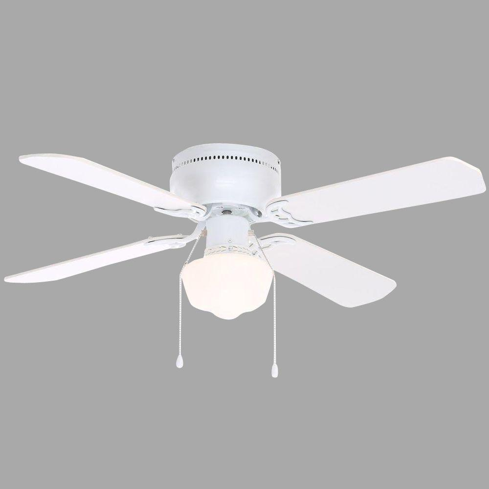 Littleton 42 in. White Ceiling Fan
