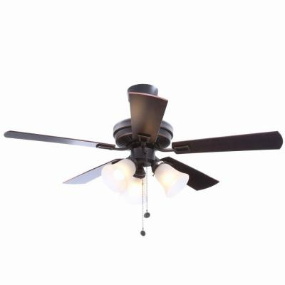 Sinclair 44 in. Tarnish Bronze Ceiling Fan
