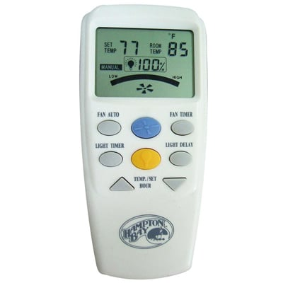 Hampton Bay Universal Thermostatic LCD Remote Control