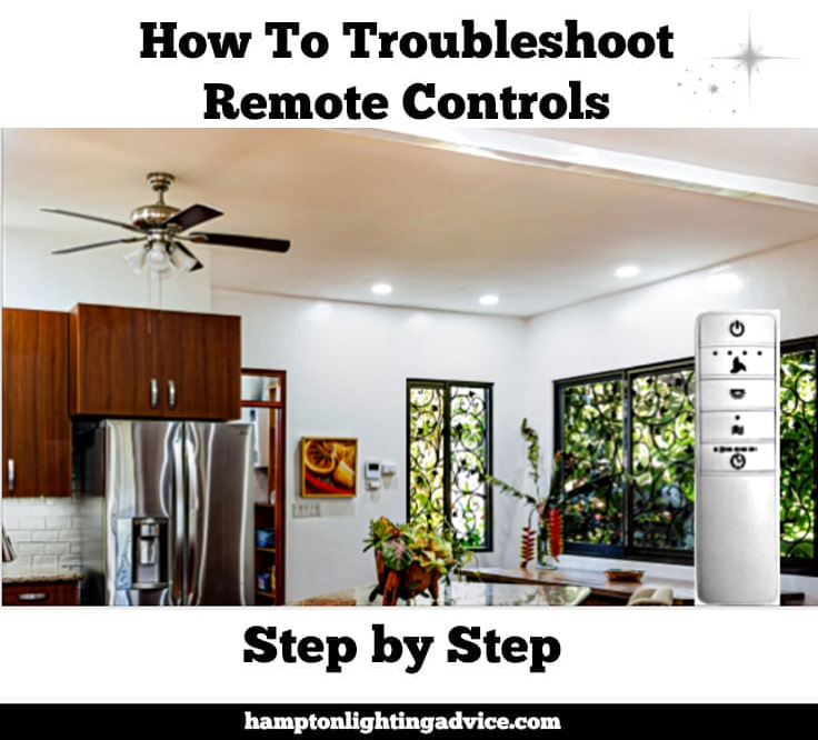 Troubleshoot Hampton Bay Ceiling Fan Remotes