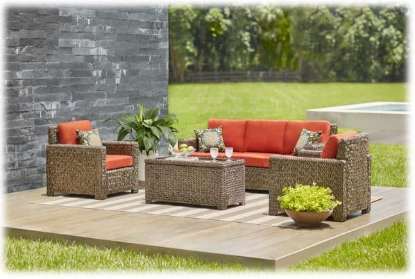 Hampton Bay Patio Furniture Conversation Sets
